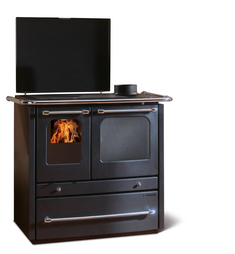 Cucina a legna con forno nordica extraflame sovrana evo - Termostufe a legna nordica prezzi ...